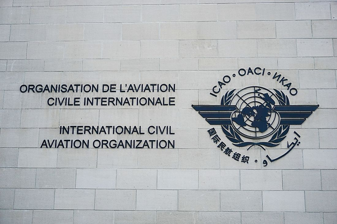 ICAO was instituted on April 4, 1947. Editorial credit: Jordan Adkins / Shutterstock.com