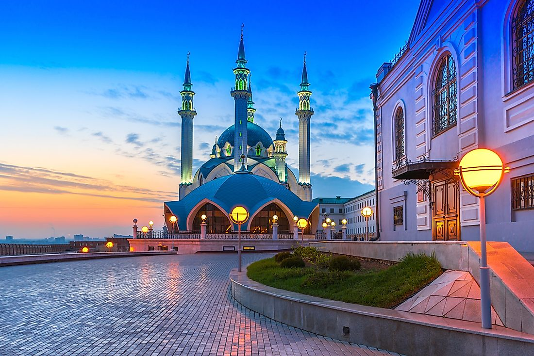 Kazan, Russia, has been a recipient of the Pomme d'Or award.