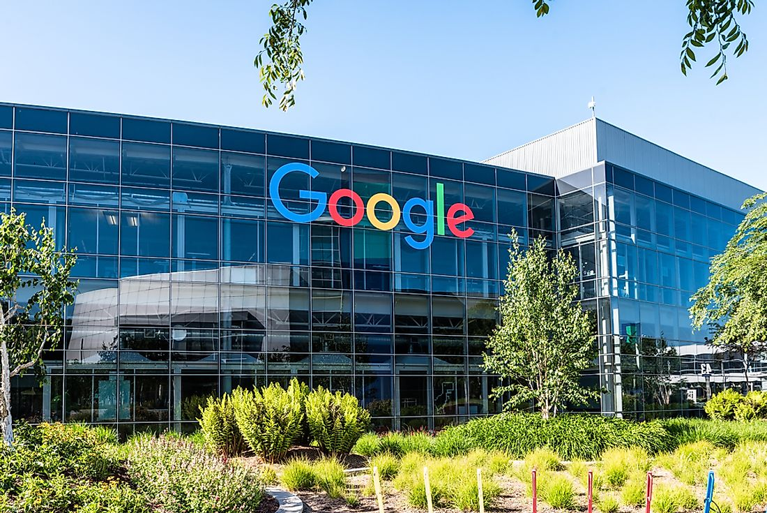 The headquarters of Google. Editorial credit: Uladzik Kryhin / Shutterstock.com.