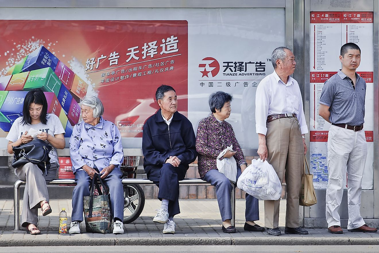 The aging population has been rising in China as a result of the one-child policy. Image credit: Drevs/Shutterstock.com
