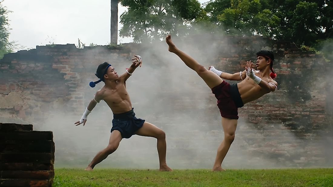 Muay Thai, also known as Thai boxing.