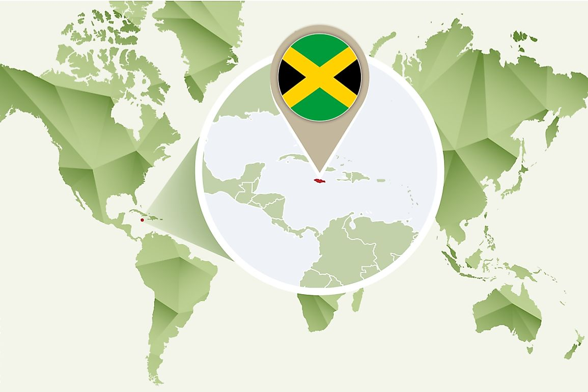 Jamaica is the third-largest island country in the Caribbean.