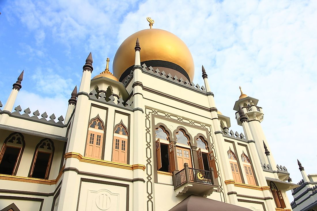 Sultan Mosque of Singapore.