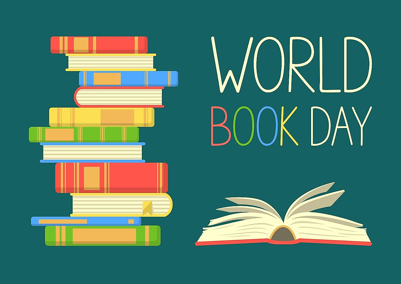 April 23 is World Book Day.