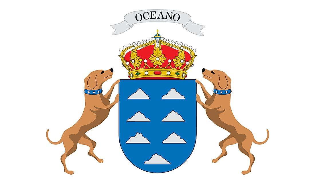 Canary Island Coat of Arms.