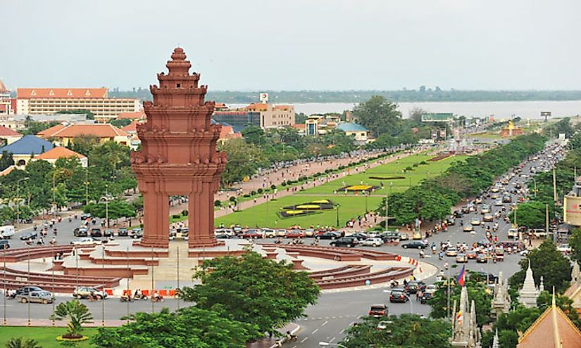 Phnom-Penh-city is the biggest city in Cambodia.