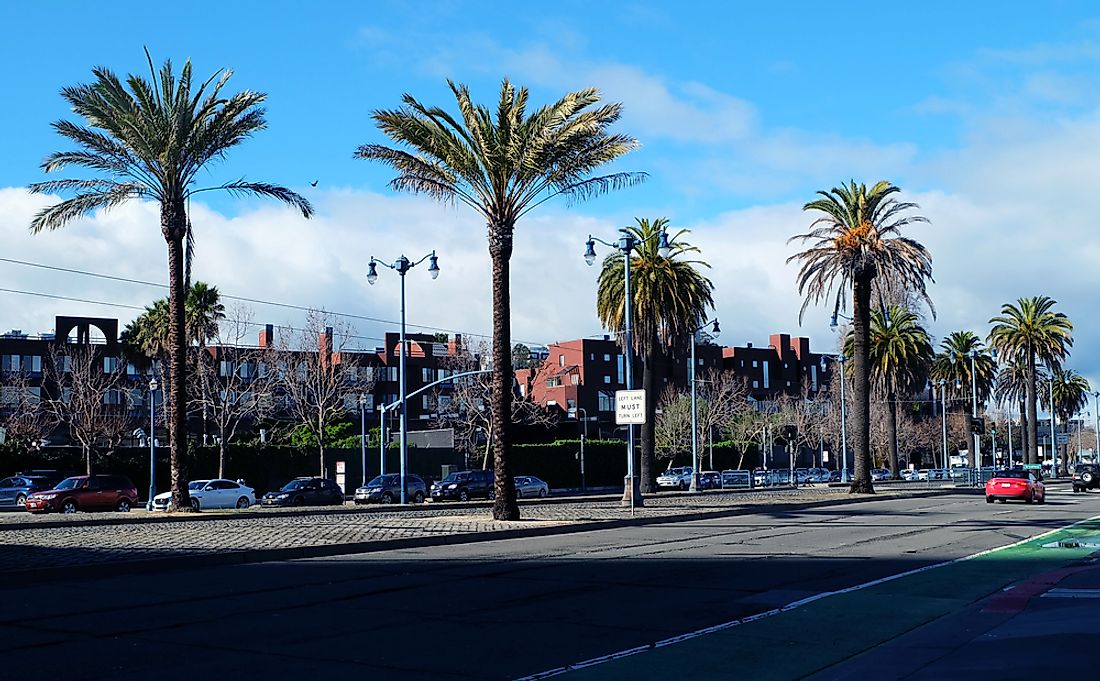 Embarcadero Street, formally Embarcadero Freeway.