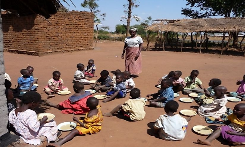 AIDS orphans in Malawi