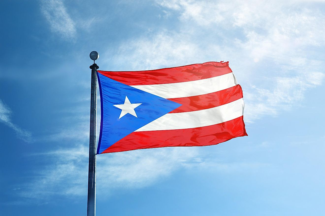 Puerto Rican flag. Image credit: Creative Photo Corner/Shutterstock