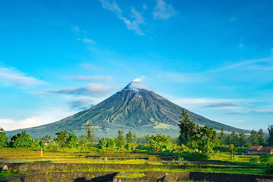 Mayon has erupted over 50 times in the past half millennium.