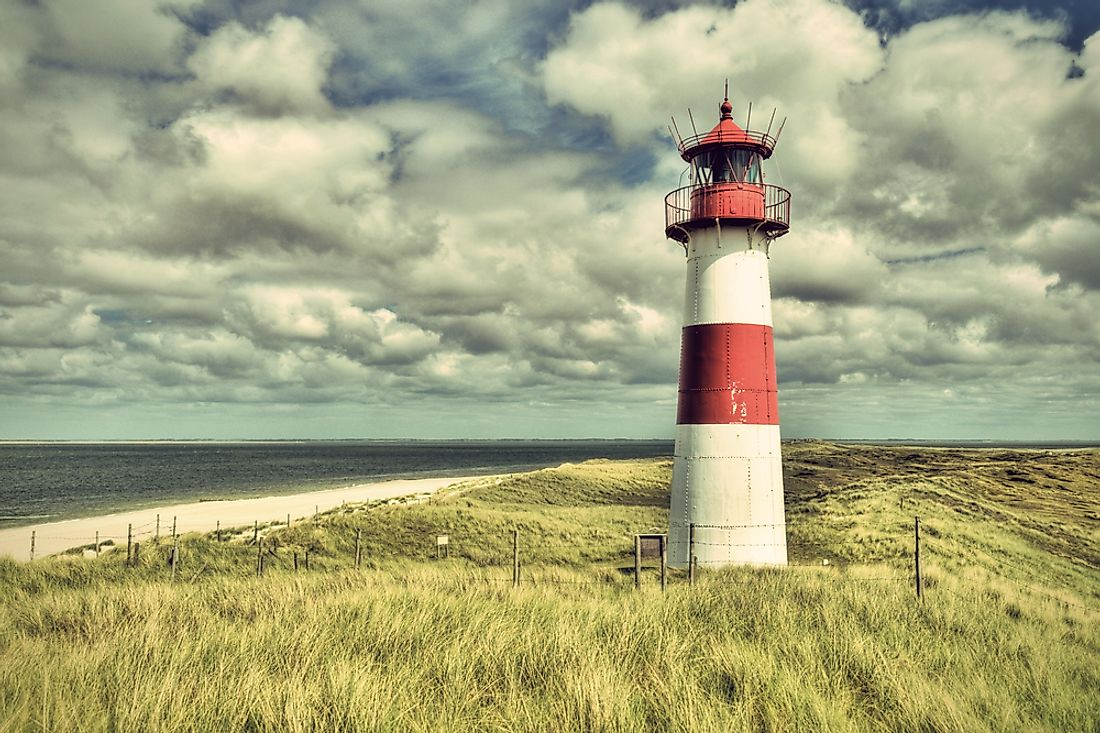 List Auf Sylt, the northernmost point of Germany.