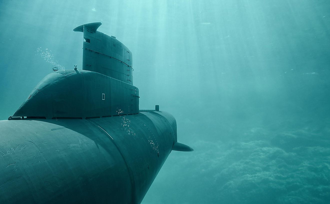 It is a rare occurrence that a single submarine disappears, but four in the same year?
