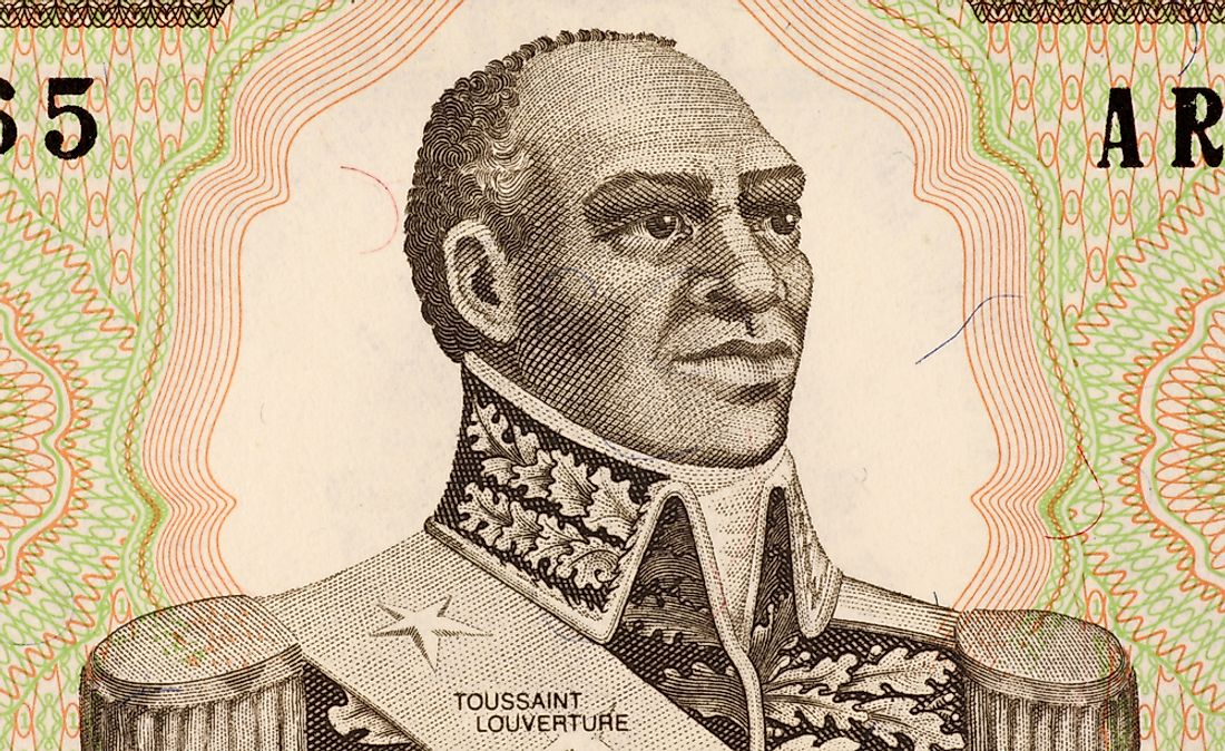 Toussaint L'Ouverture, leader of the Haitian Revolution.  Editorial credit: Georgios Kollidas / Shutterstock.com.