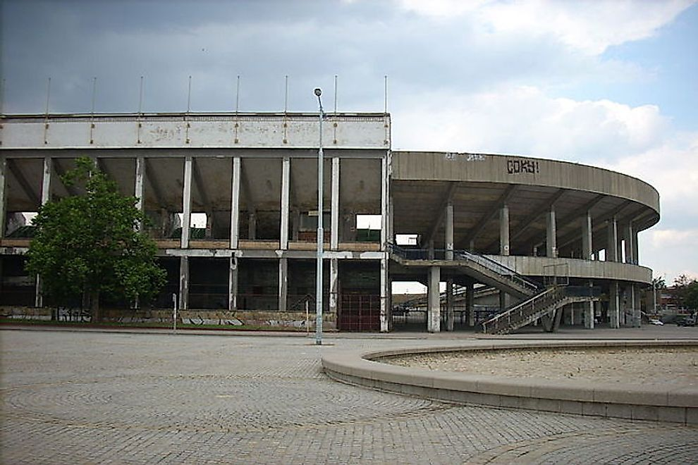 The ​Strahov Stadium​ in Prague is the largest abandoned stadium in the world.