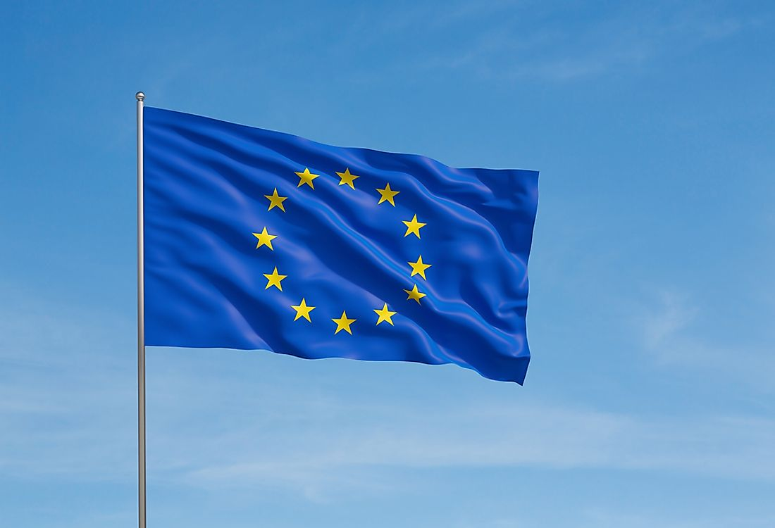 The flag of Europe has been in use since 1955.