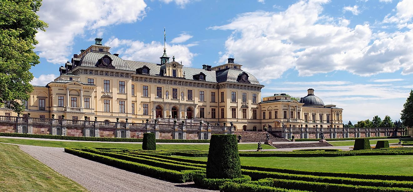 Drottningholm Palace is the residence of Swedish royal family, including the King of Sweden.