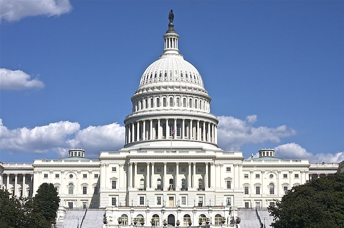 The Capitol building is the meeting place of the United States Congress.
