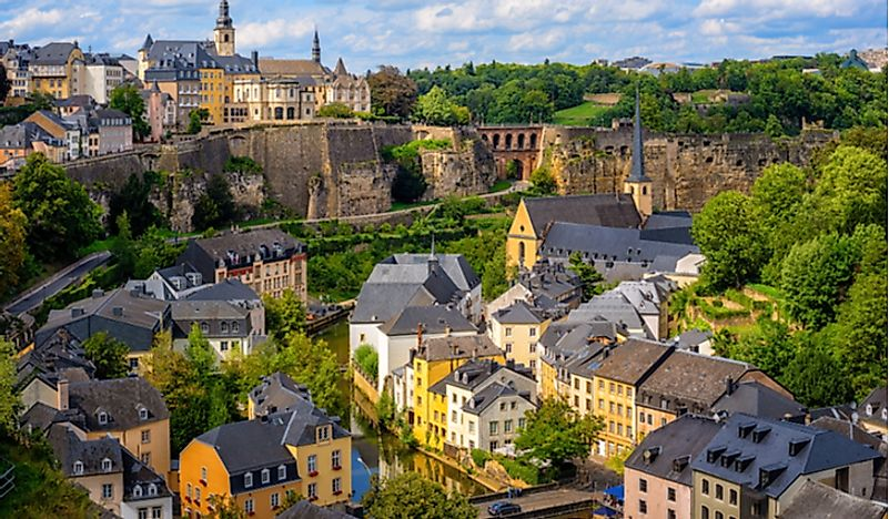 Luxembourg is among the world's richest countries.