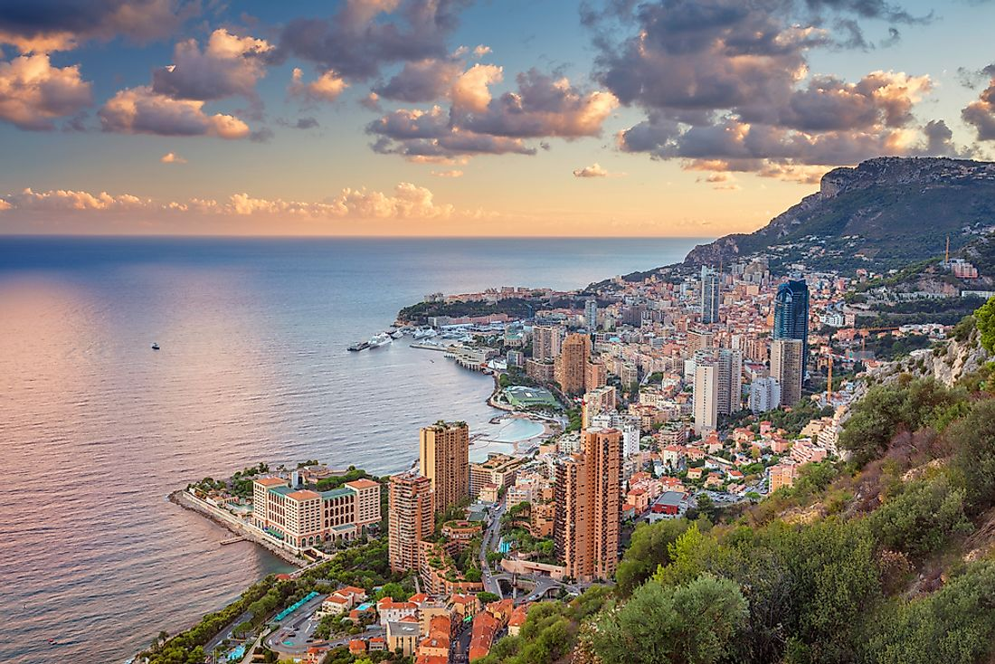 View of Monte Carlo, Monaco.