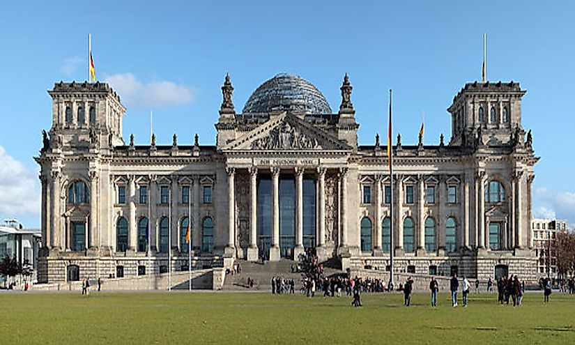 Seat of the Bundestag, the Federal Parliament of Germany.