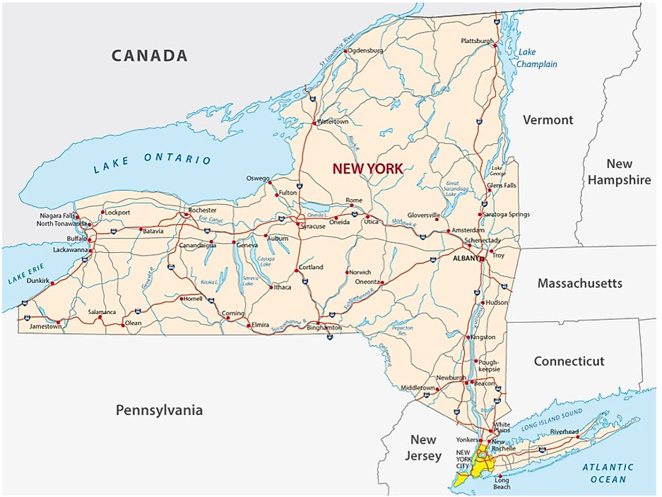 The fictional hamlet was added to maps of New York state as a means of catching potential copyright infringement.