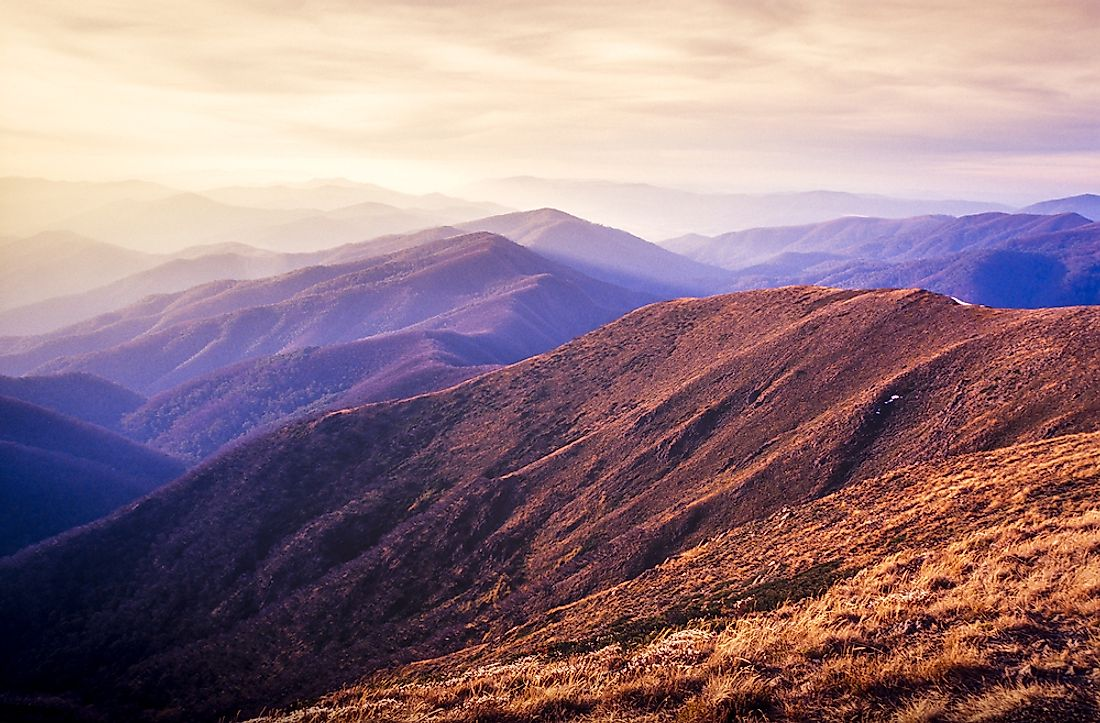 Alpine National Park is one of Australia's largest national parks.