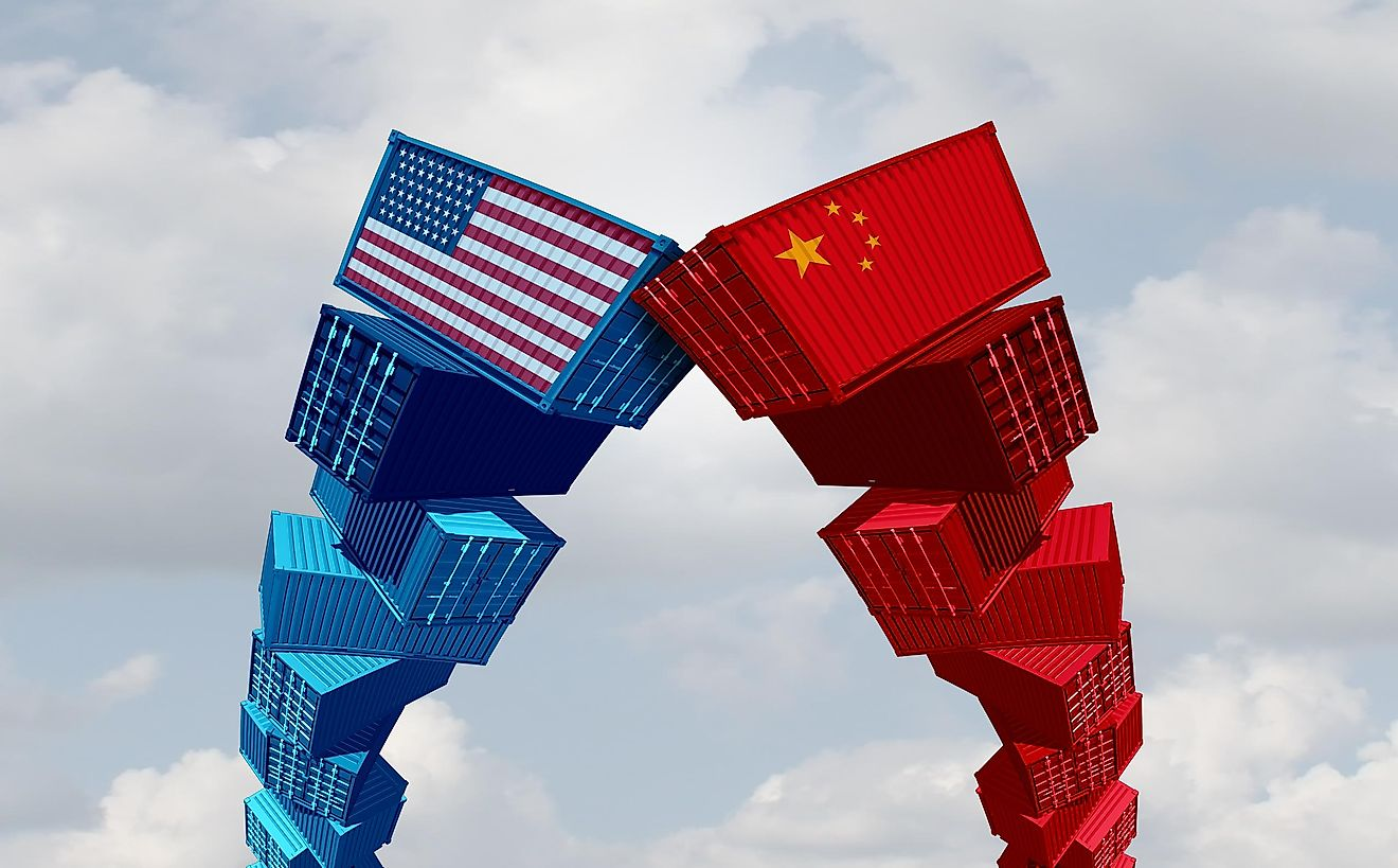 The US and China have been embroiled in trade wars.
