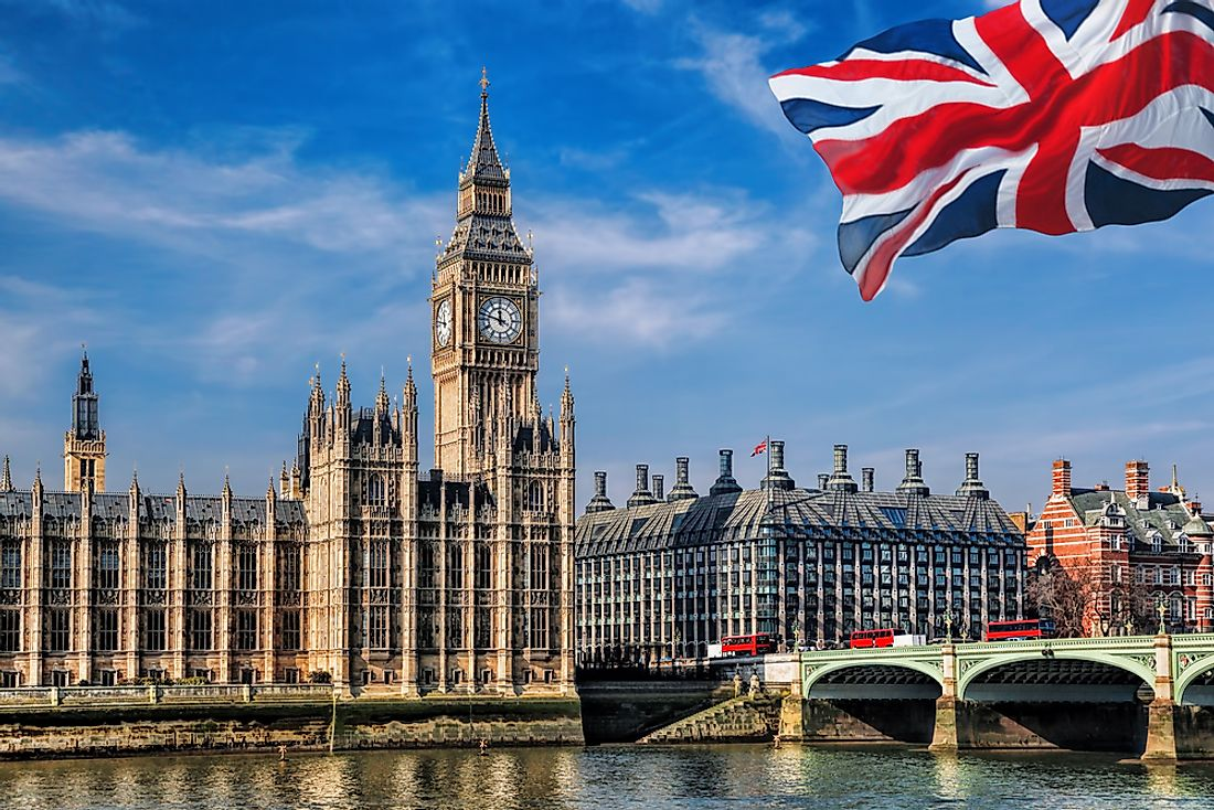 London is the capital city of England and of the United Kingdom.