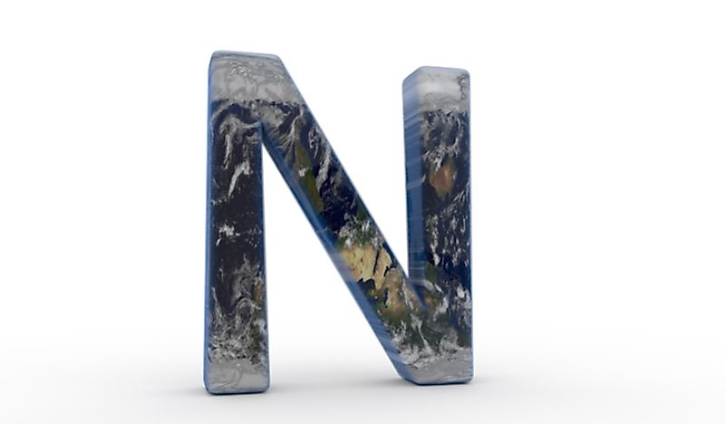 There are a number of countries whose names begin with the letter N.