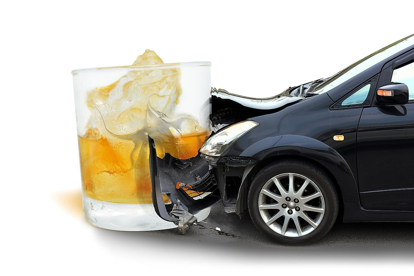 Drinking and driving is responsible for many fatalities worldwide.