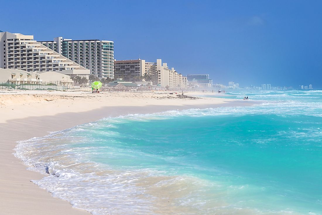 Cancun is an affordable travel destination for those looking to explore the Caribbean Sea.