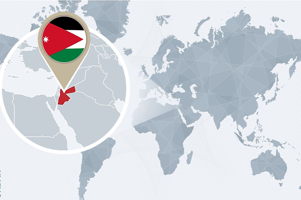 Jordan is a Middle Eastern republic is strategically located in western Asia at the crossroads of Africa and Asia.