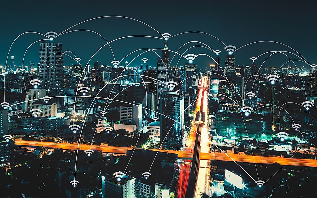 WiFi technology has grown to become an essential party of the modern city.