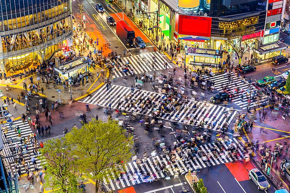 Tokyo is considered the world's largest city by population.