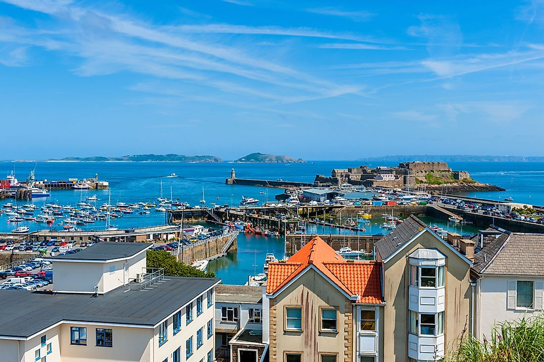 Saint Peter Port is the capital city of the Bailiwick of Guernsey.