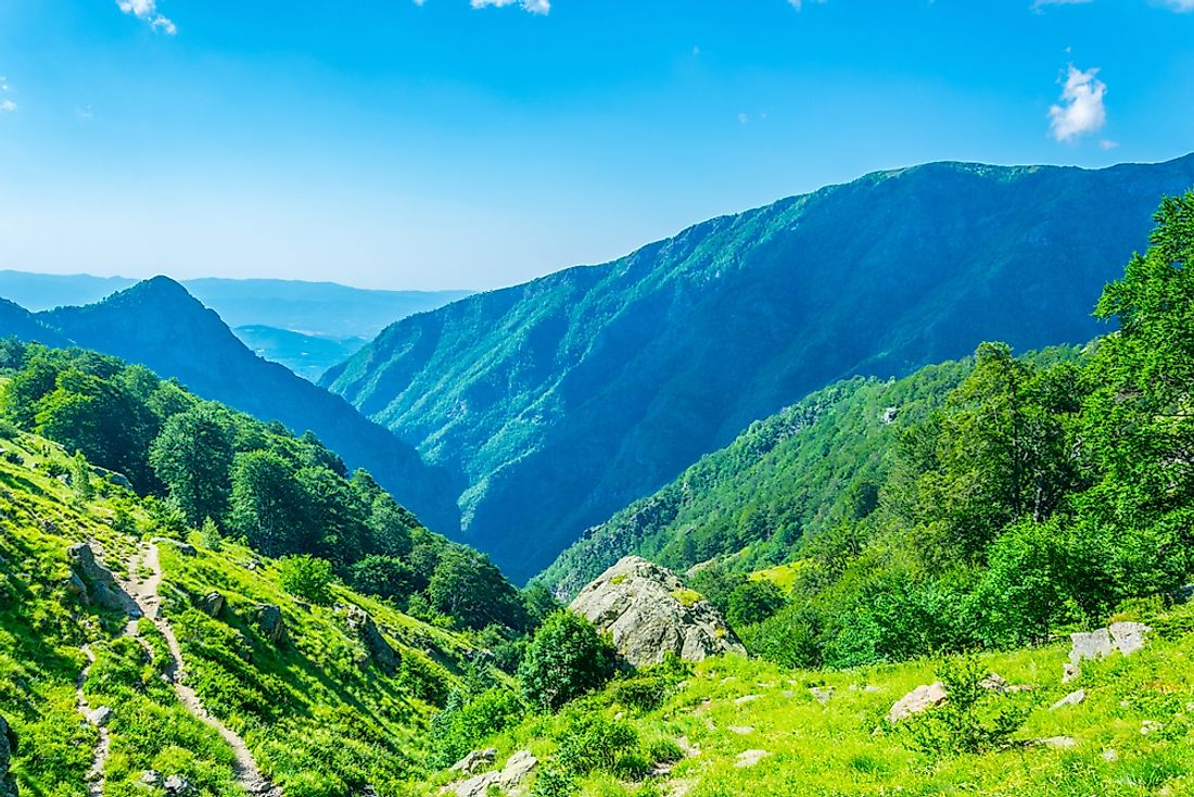 Bulgaria's Central Balkan National Park is nestled in the Balkan Mountains.