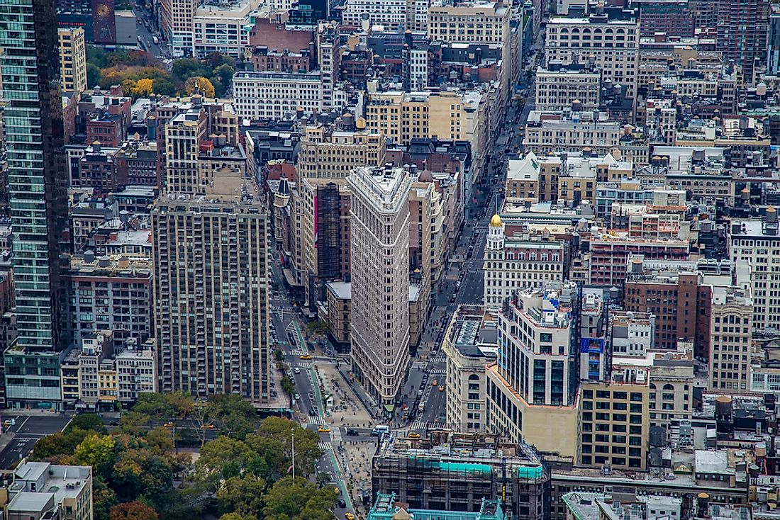 Many of the buildings in Manhattan's urban landscape date back to the late 1800s.