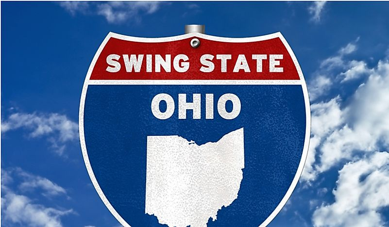Ohio is an example of a swing state.