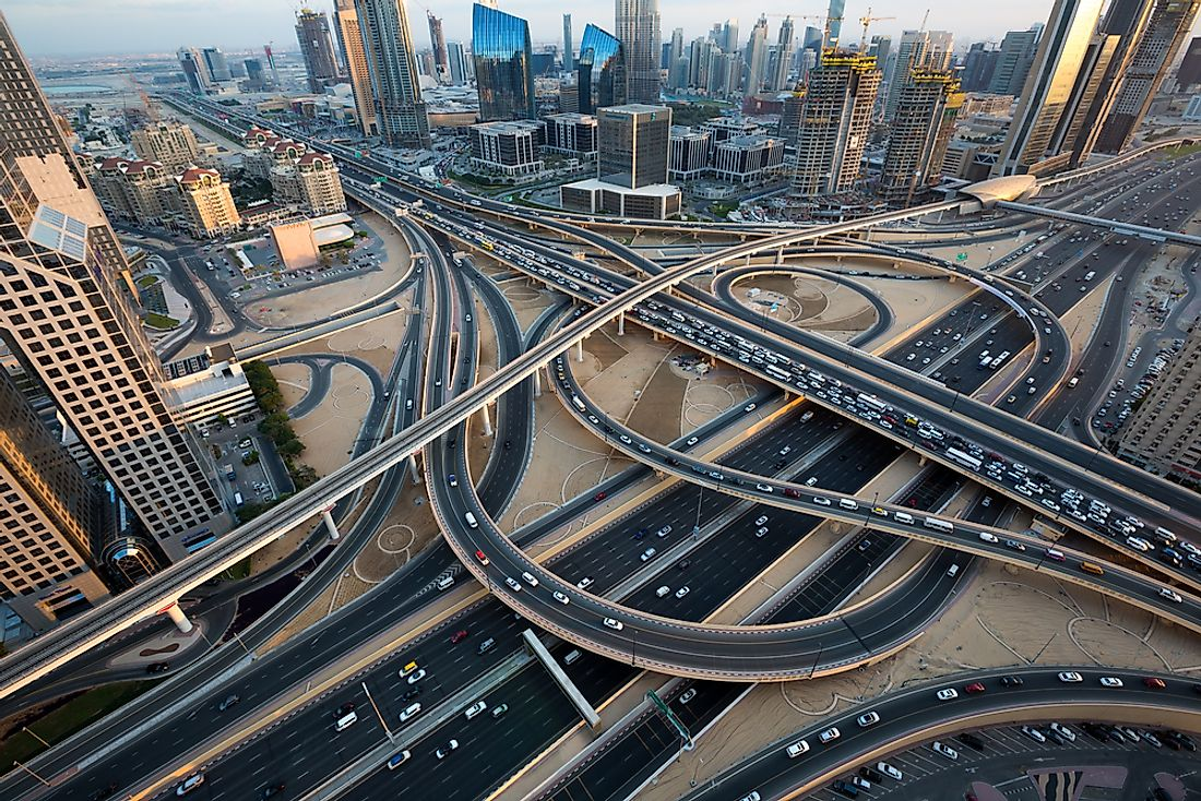 The United Arab Emirates (UAE) ranks first globally in terms of road quality.