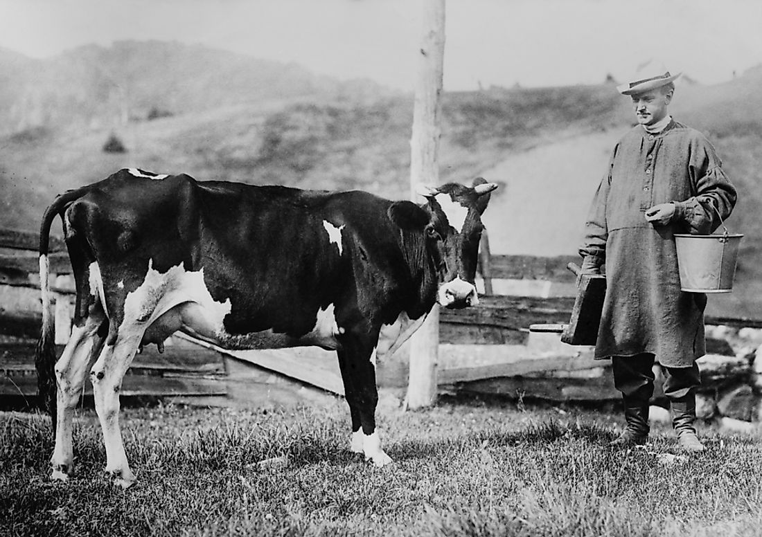 Calvin Coolidge in 1920 in Vermont.