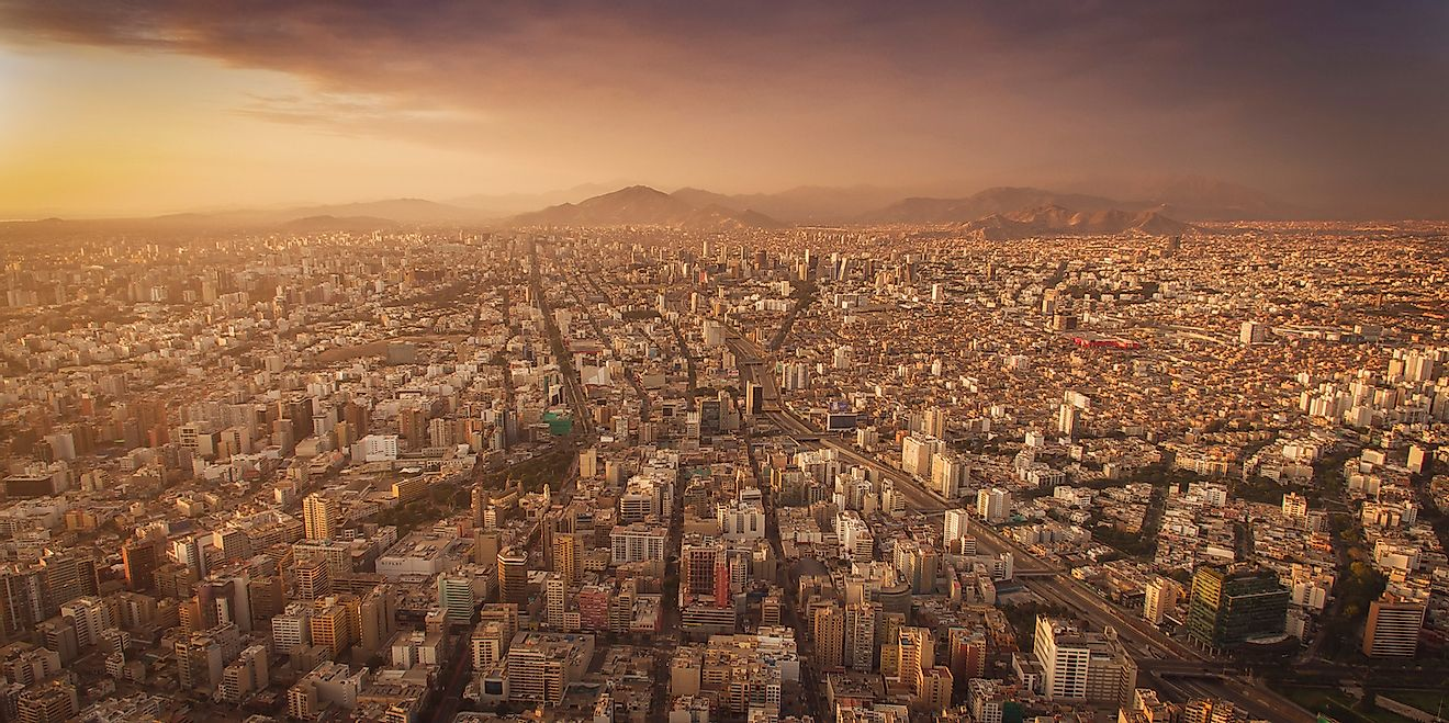 Aerial shots of Lima. Image credit: Christian Declercq/Shutterstock.com