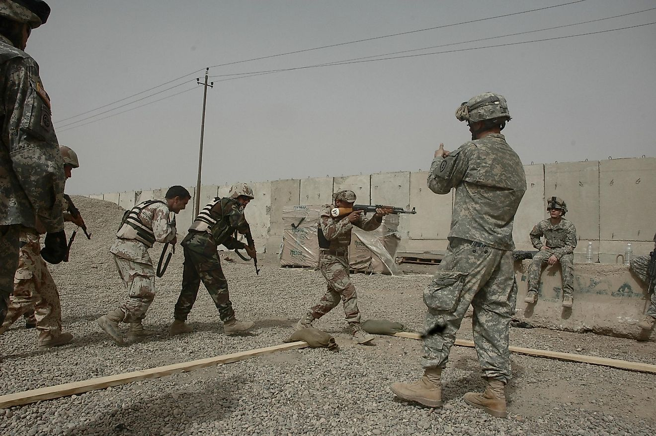 The 2003 invasion of Iraq was just the first step of the Iraq War. Image credit: Christopher Landis / Shutterstock.com