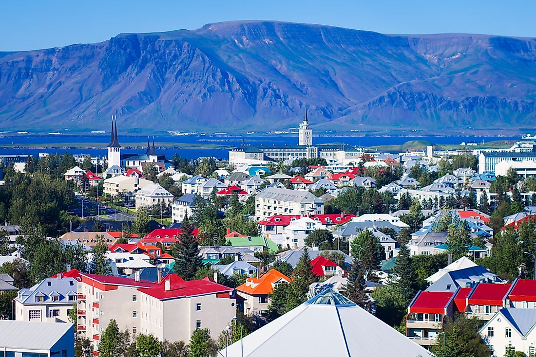 Reykjavik is the capital city as well as the largest city in Iceland.