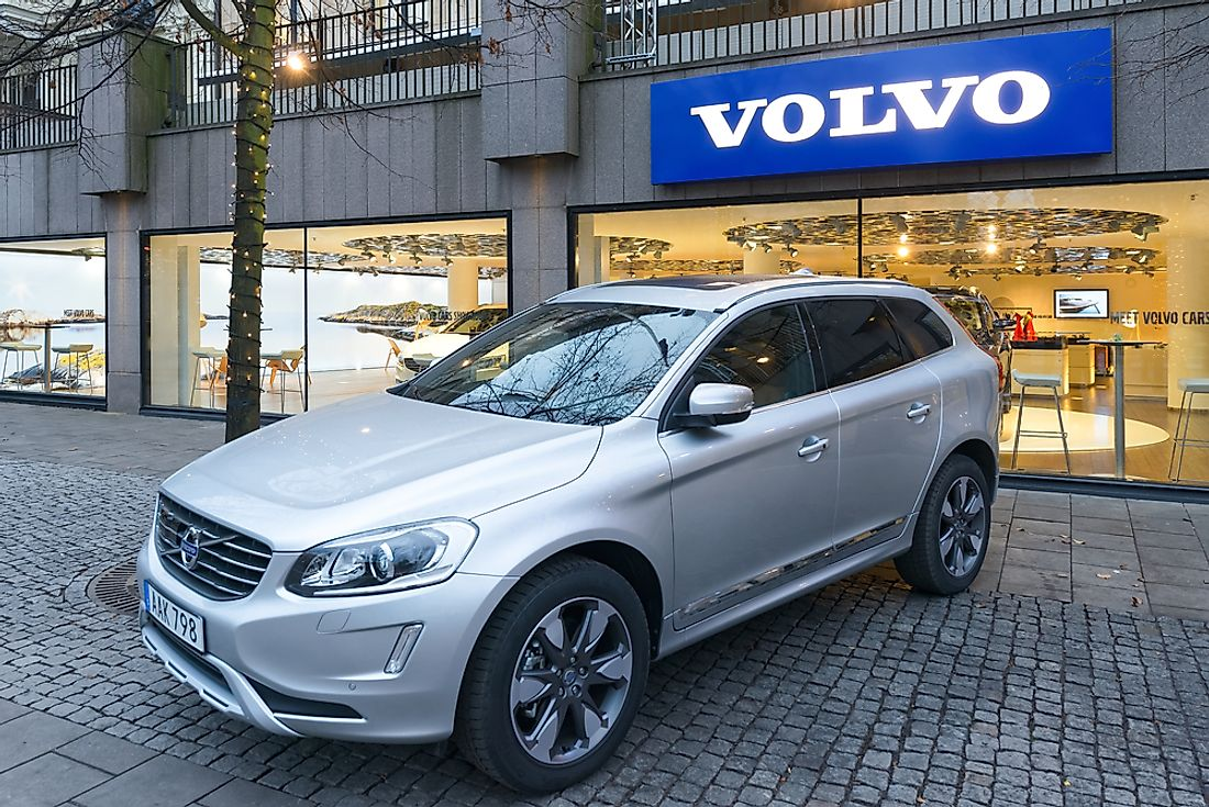 Volvo is the largest Swedish company. Editorial credit: Stefan Holm / Shutterstock.com.