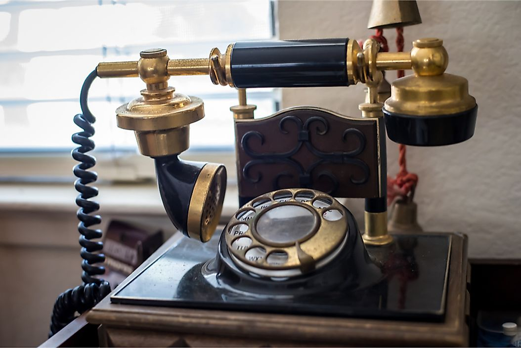 Various forms of the telephone have existed since it was first patented in the United States in 1876.