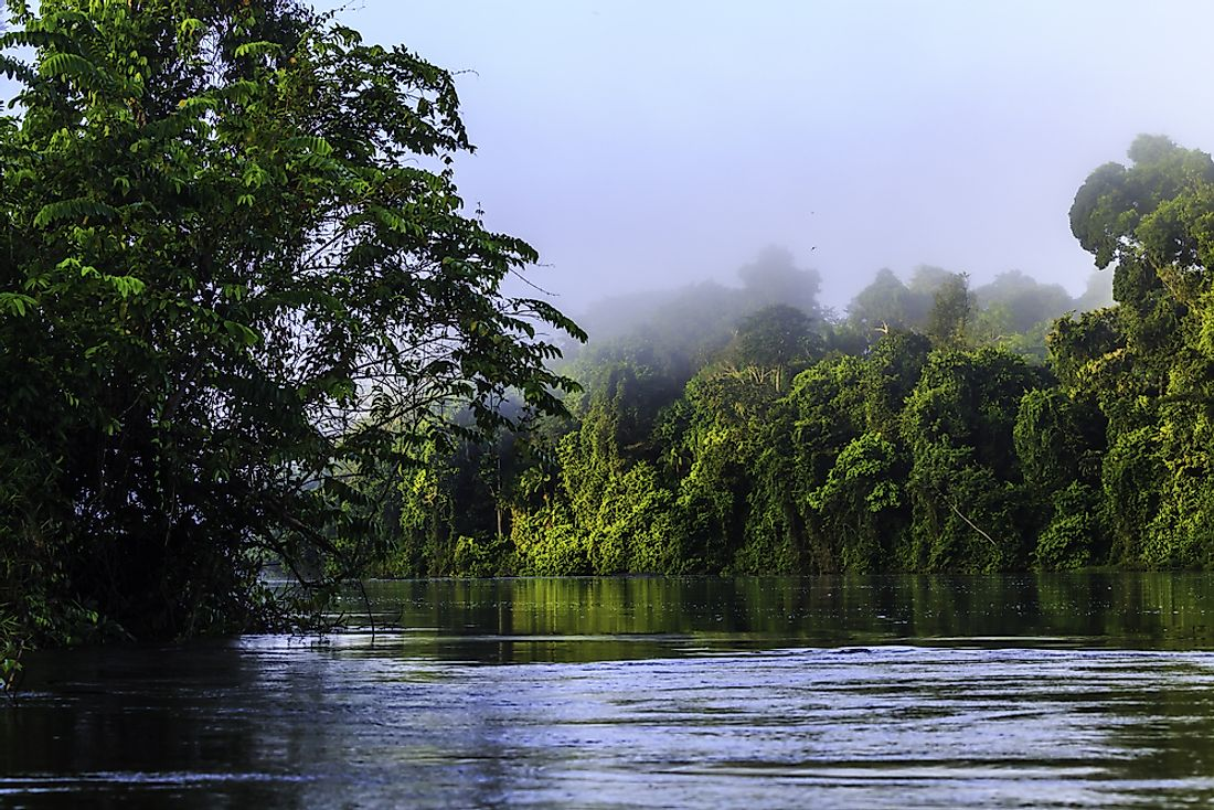 Suriname is the least populated country in South America.