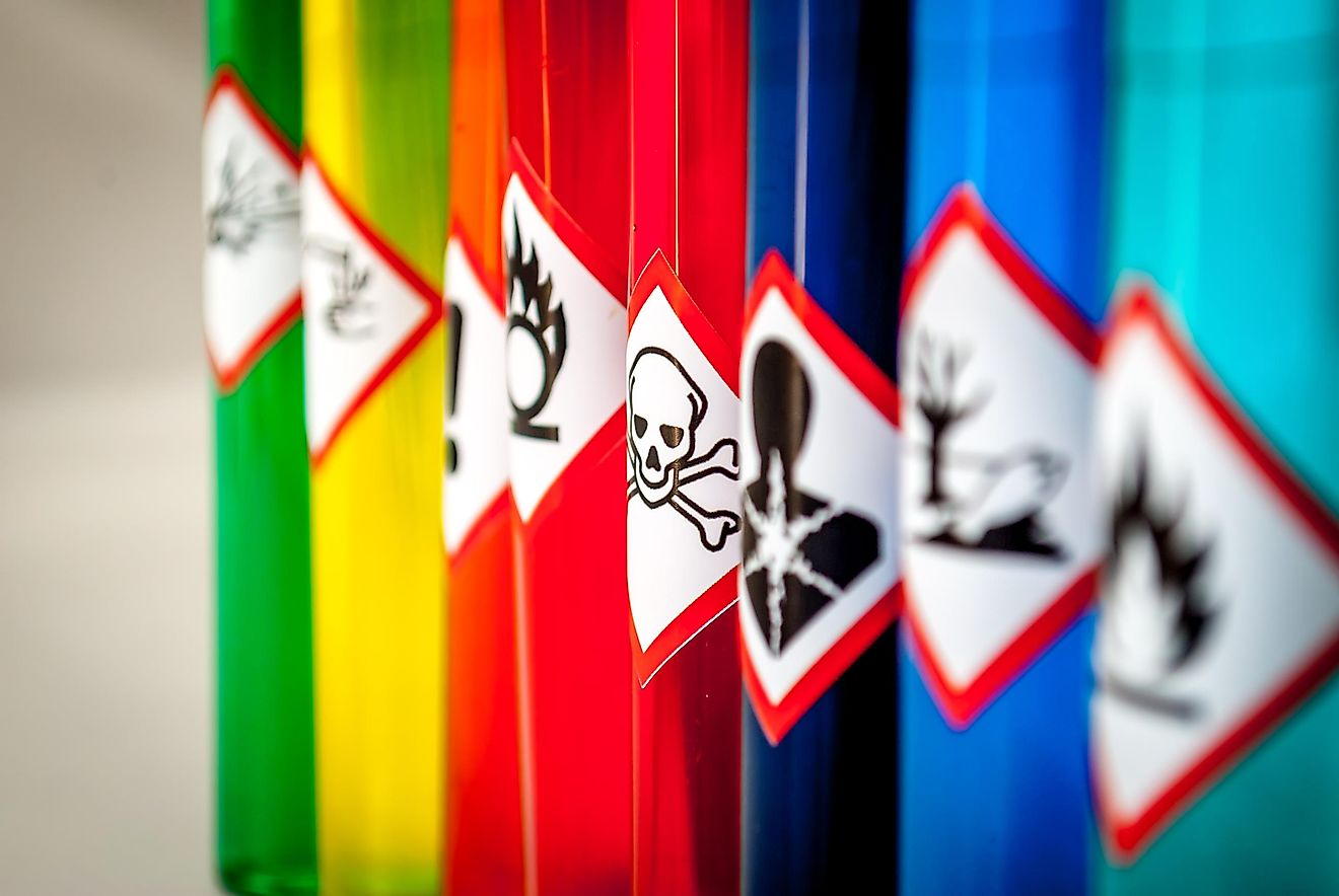 There are plenty of extremely powerful and dangerous substances that exist in the world today.