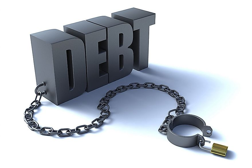Many developing countries across the world have massive external debts running into trillions of dollars.