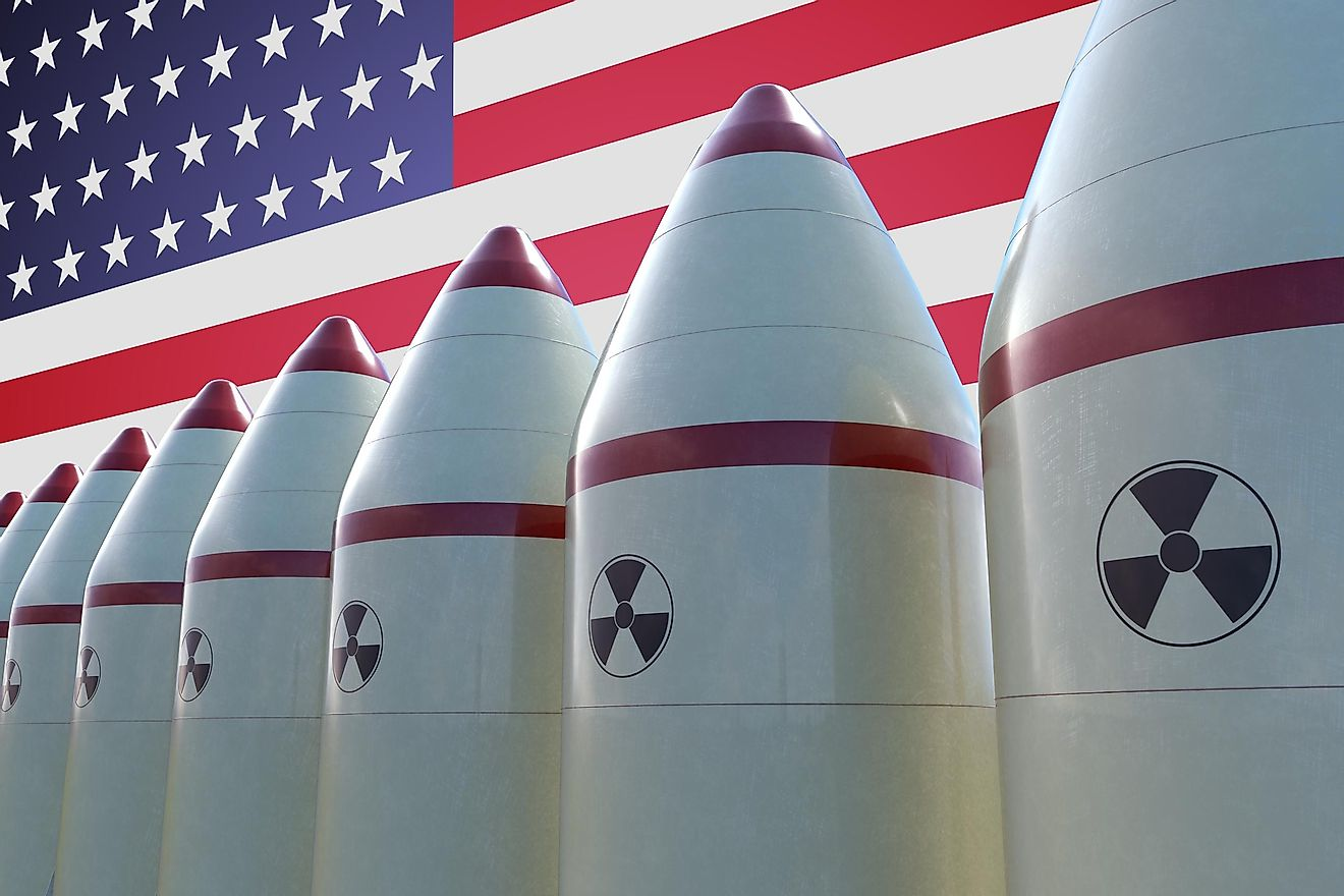 The united states have over 6,000 warheads under the NPT.
