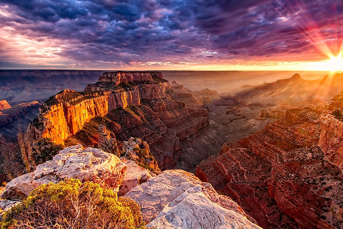 The Grand Canyon is one of the most famous canyons in the world.